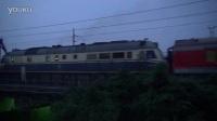 京沪铁路DF11牵引 K1202次(贵阳-烟台) 蚌埠市淮河大桥拍车 京沪线-403