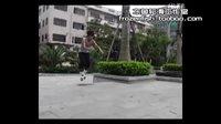 冻鱼轮滑工作室Freestyle滕六曼陀罗平花鞋测试视频