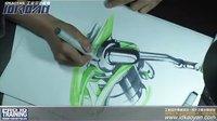 工业设计考研手绘视频 卷线器(IDKAOYAN工业设计手绘教育)