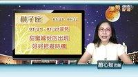 台湾中华电信MOD赵心如星座专家2013年1月21日~27日星座运势(全)