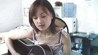 美女吉他弹唱《末日》