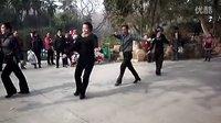 【2012年花式伦巴】 武汉中山公园2013年元月10日老师表演