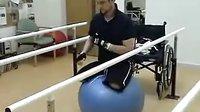 Balancing on Gym Ball