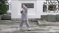 杨式太极拳精简38式之一松柔架