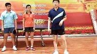 乒乓球九级训练内容与达标标准 1-1-3 身体基本准备姿势