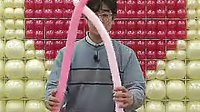 v808  小人 魔术气球教程 魔法长条气球制作教学 淘宝幻彩气球QQ1078052200