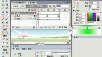 FLASH动画教程154 滑过水晶导航2