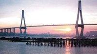 老南油人镜头中的湛江海湾大桥