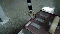 喷涂机器人工业机器人涂胶走轨迹