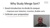 1 - 5 - Merge Sort Motivation and Example (9 min)