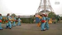 洛阳市体育舞蹈运动协会健身操舞专业委员会自编腰鼓---7