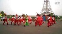 洛阳市体育舞蹈运动协会健身操舞专业委员会自编腰鼓---8