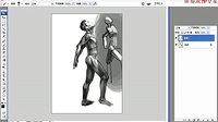 名动漫原画插画视频教程-人体系列-《头部结构-1》