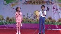 广饶县共青希望小学庆六一学生才艺展示相声《吹牛》