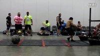 2013第二届全民健身周末体育大赛美国大力士业余赛-举石球过横杆1