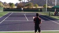 【零凌网球】教学篇——锦织圭击球练习3