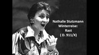 舒伯特《冬之旅》Nathalie Stutzmann Schubert,Winterreise