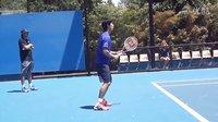 【零凌网球】教学篇——锦织圭击球练习4
