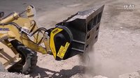 MB-L 粉碎铲斗装配于滑移装载机和挖掘装载机
