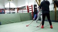 女子拳击绳索出拳规范标准训练2,Mark's BOXING GYM BeiJing,瑾