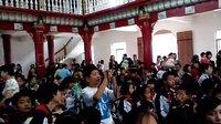 鄱阳亭子岭小学六一文艺表演 合唱快乐的节日