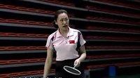 羽毛球专家把脉03 反手球起动和步法 反手球的握拍与发力