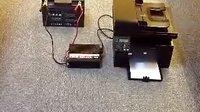 逆变器THA800W带动打印机操作视频