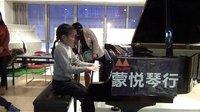 合肥钢琴培训-小小年纪钢琴弹得如此之好、感动