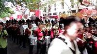 2013上海之春管乐节,南京路街游~~~