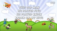【老文头英文儿歌】This Old Man Karaoke