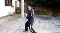 温州洞头县武术协会主席苏彩标老师的太极十三式