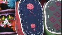 中国民间工艺品制作系列民间布艺虎头鞋老虎枕1