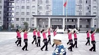屈家岭夕阳红健身舞队  很多