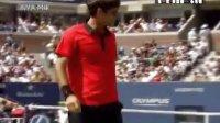 2009年美国网球公开赛第一轮费德勒VS布莱顿