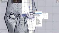 SketchUp强大顶点编辑工具制作异形Alien