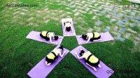 瑜伽 武汉瑜伽培训单色舞蹈瑜伽教练班 户外瑜伽9月