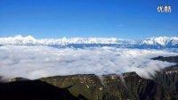 《画卷上的中国》延时摄影大赛三等奖__牛背山,矗立云端之上