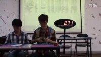 2011WCA长沙赛三速彭世奇单次8.11,中国第四。