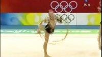 北京奥运艺术体操 乌克兰艺术体操队 3圈2棒