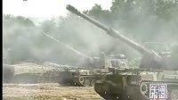 韩国在韩朝边境举行军事演习 韩军出动坦克和炮兵
