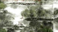 王福增国画视频