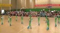 山东省柔力球队昆明交流活动的集体自选套路