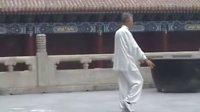 杨氏太极拳老六路朱怀远先生传系-演练者,宋培阁老师,地点北京