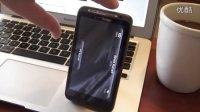 Skype在HTC Thunderbolt手机上的视频通话,清晰!