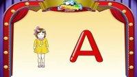 英语世界自然拼音字母A发音 TPR及书写练习