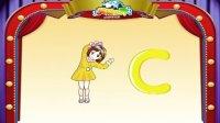 英语世界自然拼音字母C发音 TPR及书写练习