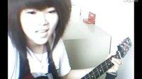 【小冤家】山林吉他 吉他弹唱 美女吉他弹唱 女生吉他 吉他