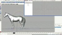 maya动画教程(四)四足马跑制作过程
