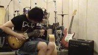 透明乐队吉他手搞怪做FENDER和PRS吉他试听