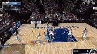 【阿爱出品】《NBA2KOL》游戏解说自由对抗赛掘金VS步行者:大黄蜂再虐偶.